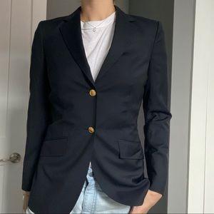 Like New Brooks Brothers navy blue blazer